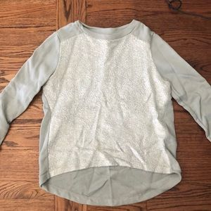 Fun banana republic sweatshirt